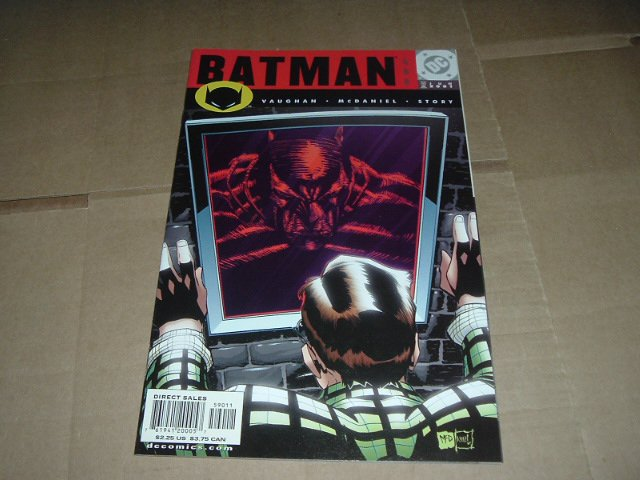 Batman #590 Brian K. Vaughan story (DC Comics 2001) Save $$$ with Flat Rate Shipping Special
