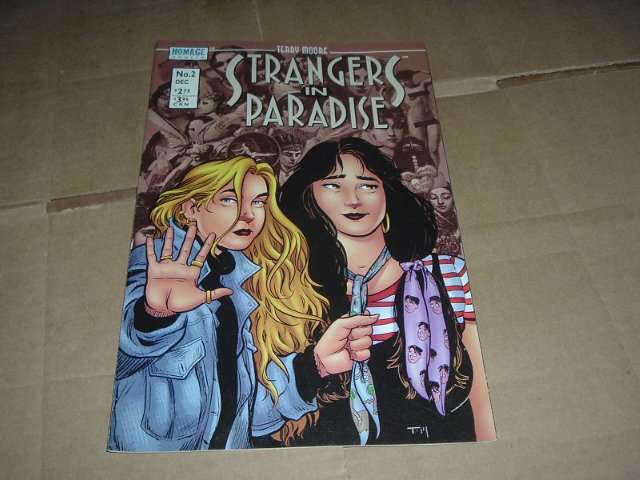 Strangers in Paradise #2 (vol. 3) Terry Moore IN COLOR (Abstract Studio/Homage Comics) see Special