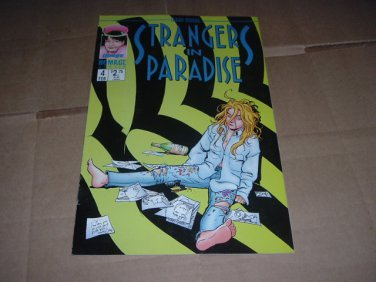 Strangers in Paradise #4 (vol. 3) Terry Moore IN COLOR (Abstract Studio/Homage Comics) see Special