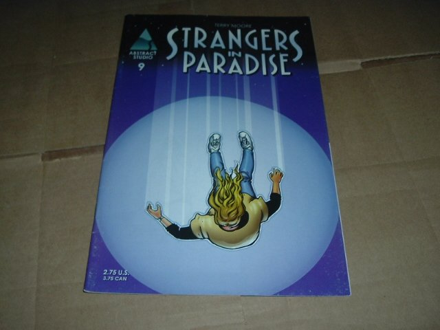 Strangers in Paradise #9 (vol. 3) Terry Moore (Abstract Studio) Save $$ with Flat Shipping Special