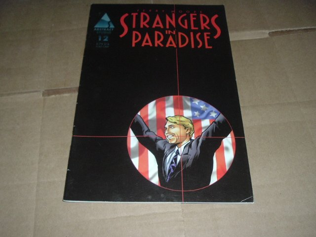 Strangers in Paradise #12 (vol. 3) Terry Moore (Abstract Studio) Save $$ with Flat Shipping Special