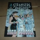 Strangers in Paradise #15 vol. 3 ORIGIN STORY FINALE High School Part 3, Terry Moore Abstract Studio
