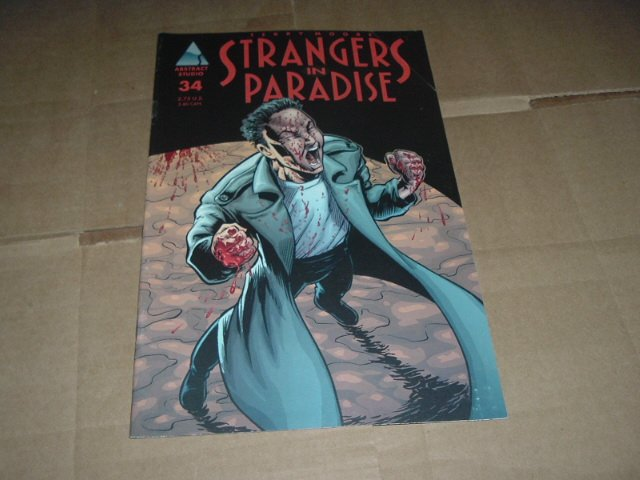 Strangers in Paradise #34 (vol. 3) VERY FINE Terry Moore (Abstract Studio) Save $$$ Shipping Special