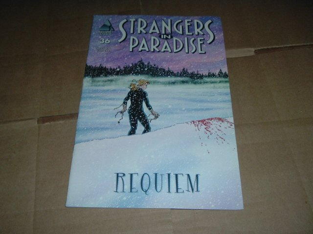 Strangers in Paradise #36 (vol. 3) Death of Sara, VF, Terry Moore (Abstract Studio) Save $ Shipping