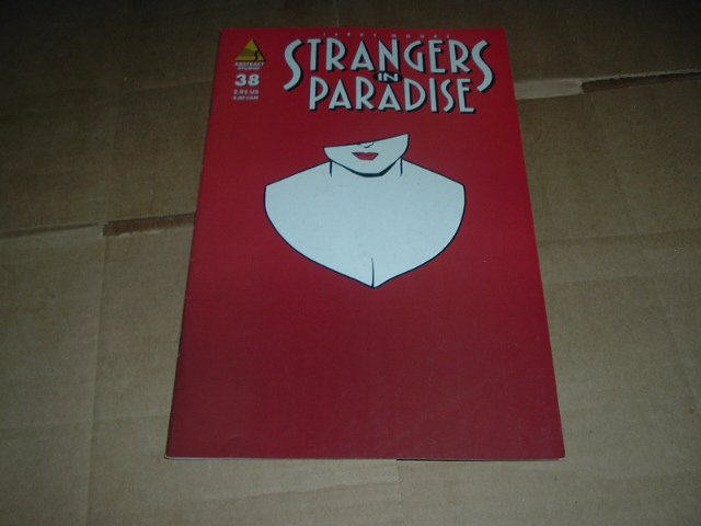 Strangers in Paradise #38 (vol. 3) VERY FINE- Terry Moore (Abstract Studio) Save $$ Shipping Special