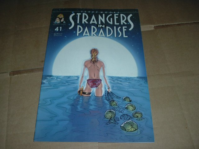 Strangers in Paradise #41 (vol. 3) VERY FINE Terry Moore (Abstract Studio) Save $$$ Shipping Special