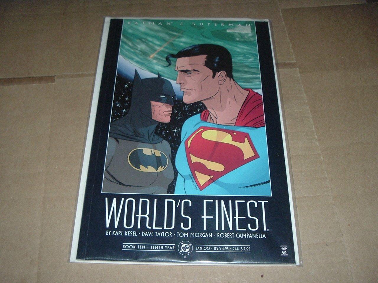 NEW UNREAD Batman & Superman: World's Finest #10 NEAR MINT (DC Comics 2000) Prestige Format GN