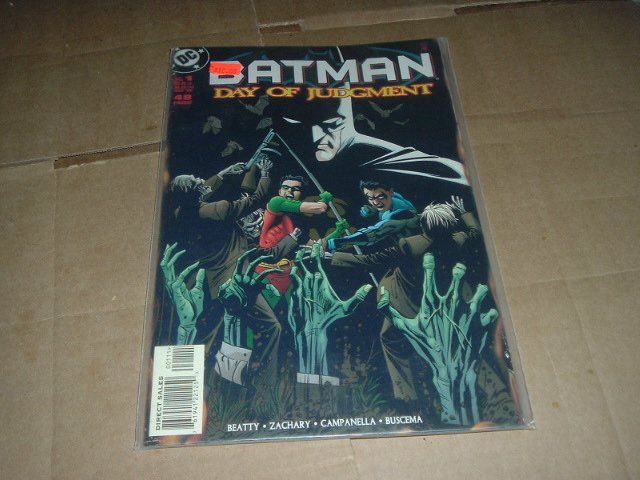 Batman: Day of Judgment #1 1-shot Special VERY FINE+ Graphic Novel (DC Comics 1999) Save $$ Special