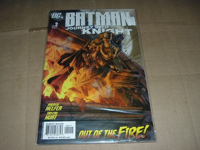 Batman: Journey into Knight #2 VF+/NEAR MINT- (DC Comics 2005) Save $$$ Flat Rate Shipping Special
