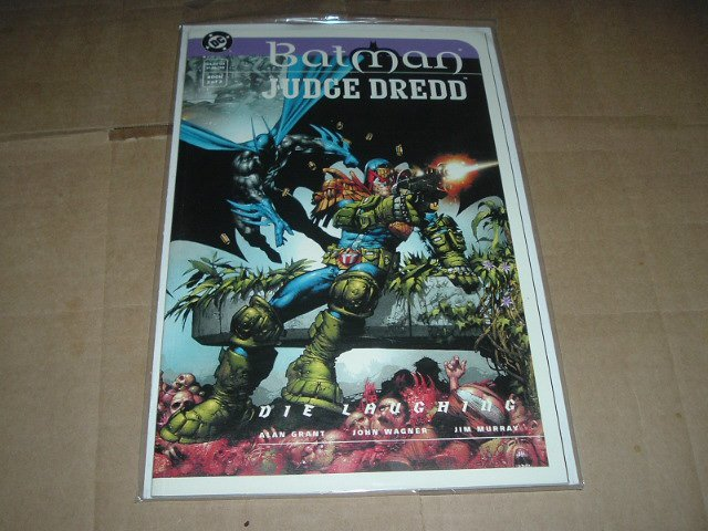 CGC it: NEW UNREAD Batman/Judge Dredd: Die Laughing #2 NM+ (DC Comics 1999) Prestige Graphic Novel
