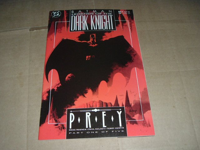 Batman: Legends of the Dark Knight #11 NEAR MINT- Prey part 1 (DC Comics 1990) Save $ Ship Special