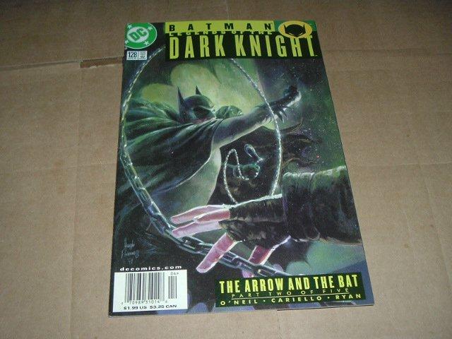 Batman: Legends of the Dark Knight #128 VERY FINE Green Arrow and the Bat part 2 (DC Comics 2000)