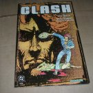 Clash #1 VF+, Book One, Prestige Format (DC Comics 1991) Bookshelf Edition Graphic Novel GN