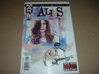 Alias #8 NR MINT+/MINT- (Marvel Max) Brian Michael Bendis, Netflix TV Show, Comic Book For Sale