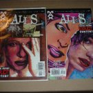Alias #22 & 23 ORIGIN FULL SET Marvel Max Brian Michael Bendis, Netflix TV Show, Comic Book For Sale
