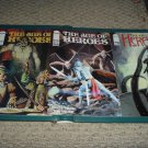 Age of Heroes #3, 4, 5 FULL RUN (Image Comics, James Hudnall), great comic books for sale