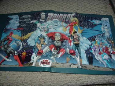 Brigade #1 VF+ with Gatefold 3-page wraparound cover (Image Comics 1993), comic for sale