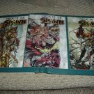Curse of the Spawn #9, 10, 11 COMPLETE 3-part ANGELA STORY set full run (Image Comics) for sale