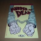 Murder Me Dead #5 (David Lapham, El Capitan Books, Stray Bullets), murder mystery comic for sale