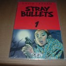 Stray Bullets #1 VERY FINE (David Lapham, El Capitan Books) 2nd print, comic book for sale