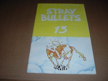 Stray Bullets #13 VF+/NEAR MINT- (David Lapham, El Capitan Books) FIRST PRINT comic book for sale