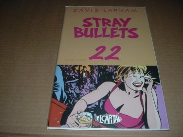Stray Bullets #22 VF+/NEAR MINT- (David Lapham, El Capitan Books) FIRST PRINT comic for sale
