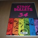 Stray Bullets #34 RARE, NEAR MINT (David Lapham, El Capitan Books) FIRST PRINT comic for sale