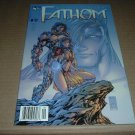 RARE Fathom #9 VARIANT Newsstand edition VERY FINE+ (Image Comics 1999 Top Cow) for sale