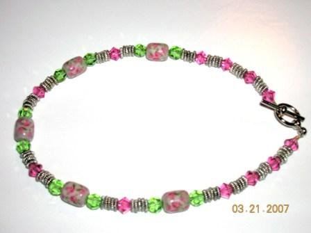 English Rose Anklet