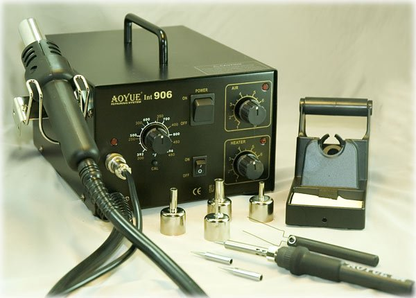 Aoyue 906 ESD Hot Air Station Soldering Rework System