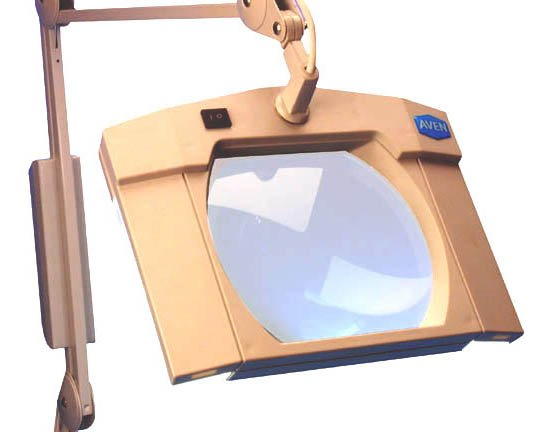Aven Magnifying Desk Clamp Light Table Magnifier