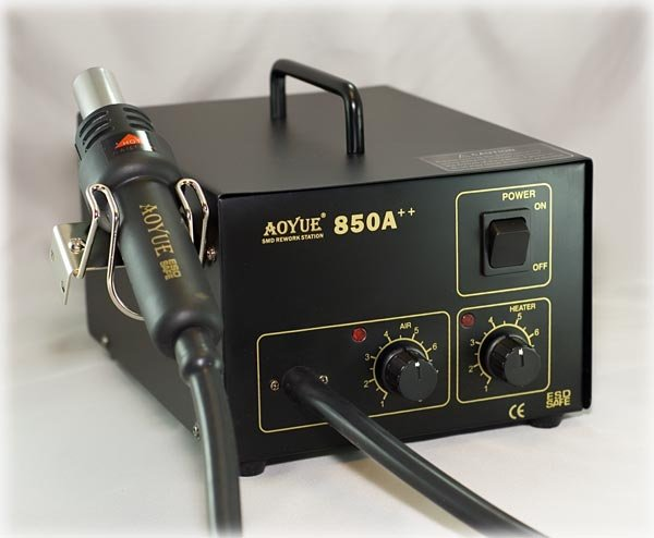 Aoyue Hot Air Station 850 ESD Soldering Rework System