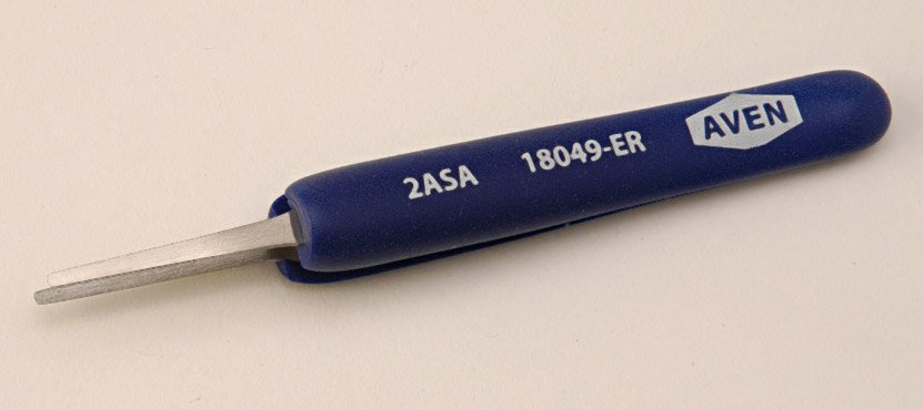 Aven Ergonomic Precision Foam Grip Tweezers Style 2A-SA