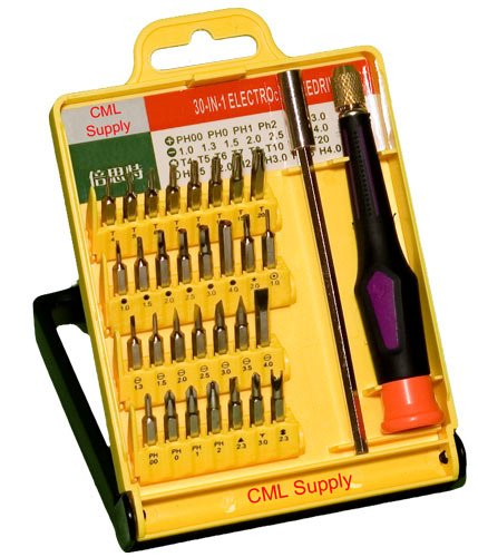 Precision Screwdriver Security Bit Set With Extension
