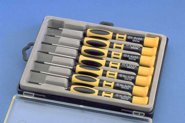 Aven Electronics Precision Screwdrivers 7pc set 13940