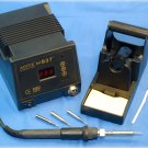 Aoyue 937 ESD Safe Soldering Iron System 4 tips