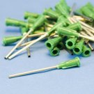 "Dispensing Needle 14 ga x 1-1/2"" Tip Green 500 pieces !"