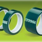 "Green Polyester Tape Powder Coating Hi Temp 1-1/2""x72yd"