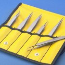 Aven Electronics Precision Tweezers 6pc set