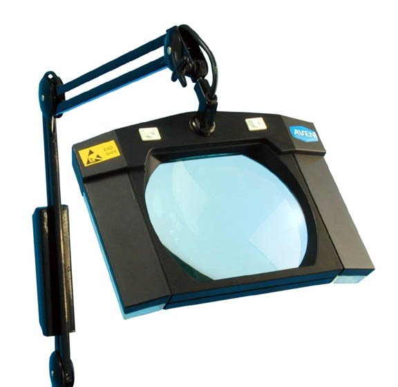 Aven MightyMag 26505-ESD Safe Magnifying Desk Light Magnifier