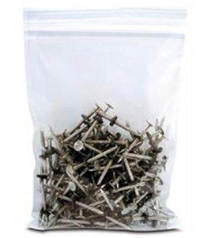 """Plastic Storage Bag 14"""" x 24"""" 4-Mil Clear Zip Lock Pk/100 14x24"""