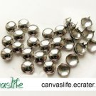 100pcs 16mm Silver Round Rivet Stud