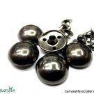 20pcs 13mm Gunmetal Round Rivet Stud