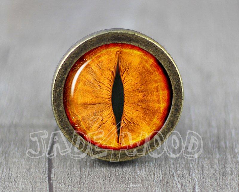 Tiger eye Glass Cabochon Bronze cabinet Dresser Knobs pull / Dresser Pull