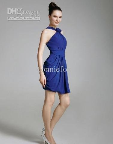 Ginnifer Goodwin Sheath/ Column Straps Knee-length Chiffon/ Satin Golden Globe/ Evening Dress