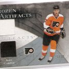 2010-11 Artifacts Frozen Artifacts Silver #FAJC Jeff Carter