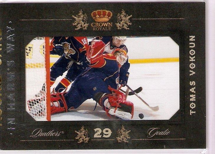 2010-11 Crown Royale In Harm's Way #11 Tomas Vokoun