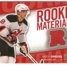 2007-08 Upper Deck Rookie Materials #RMAG Andy Greene