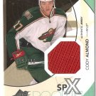 2010-11 SPx #161 Cody Almond JSY RC