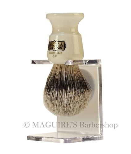 VULFIX SHAVING BRUSH DRIP STAND - CLEAR